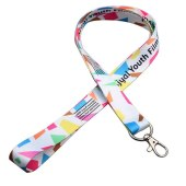 Sublimatie lanyard - Full colour bedrukt